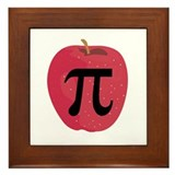 Apple Pie (Pi) Framed Tile