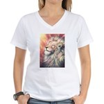 Sun King Women's V-Neck T-Shirt