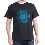 Blueberry Burst Black T-Shirt