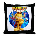 Garfield's Pet Force Throw Pillow