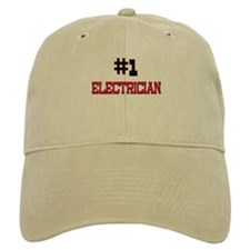 Number 1 ELECTRICIAN Baseball Cap
