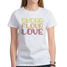 Sugar, Flour, Love Tee