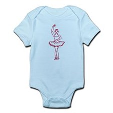 Ballet Fourth Position Infant Bodysuit