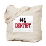 Number 1 DENTIST Tote Bag