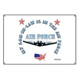 Air Force Son-in-Law Banner
