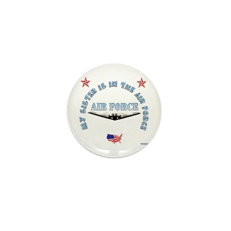 Air Force Sister Mini Button