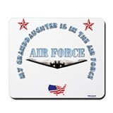 Air Force Granddaughter Mousepad