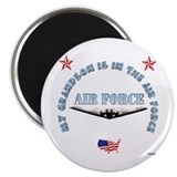 "Air Force Grandson 2.25"" Magnet (10 pack)"