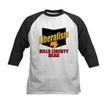 Liberals Kill Liberty DEAD Kids Baseball Jersey