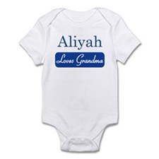 Aliyah loves grandma Infant Bodysuit