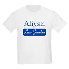Aliyah loves grandma T-Shirt