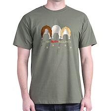 Nothin' Butt Bulldogs Green T-Shirt