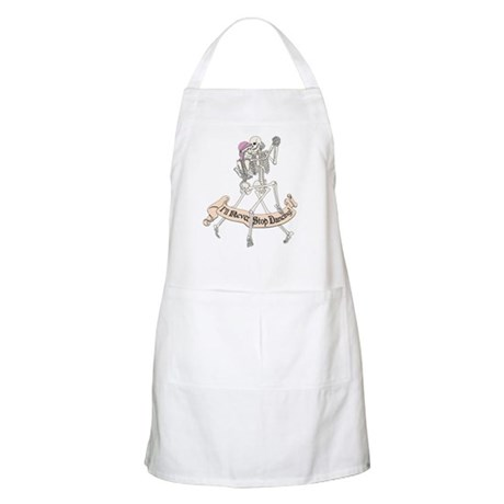 Dancing Skeletons BBQ Apron