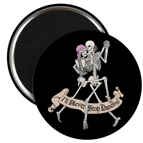 Dancing Skeletons Magnet