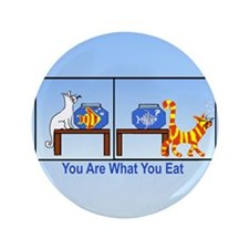 "What You Eat 3.5"" Button"