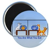 "What You Eat 2.25"" Magnet (100 pack)"