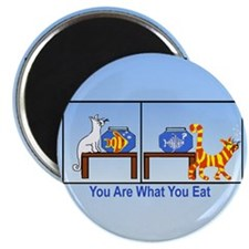 "What You Eat 2.25"" Magnet (10 pack)"