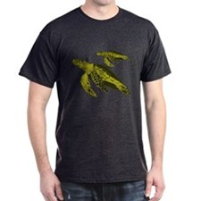 Save a Sea Turtle Black T-Shirt