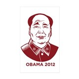 Anti-Obama Rectangle Sticker 10 pk)