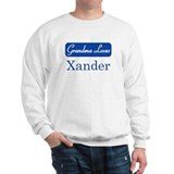 Grandma Loves Xander Sweatshirt