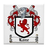 Lane Coat of Arms Tile Coaster