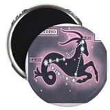 "Capricorn Zodiac Constellation 2.25"" Magnet (10 pa"