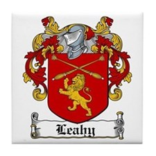 Leahy Coat of Arms Tile Coaster