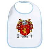 Leahy Coat of Arms Bib