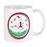Holiday Runner Guy Small Mugs