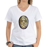 Twin Falls Sheriff Women's V-Neck T-Shirt