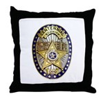 Twin Falls Sheriff Throw Pillow