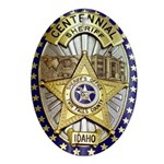 Twin Falls Sheriff Oval Ornament