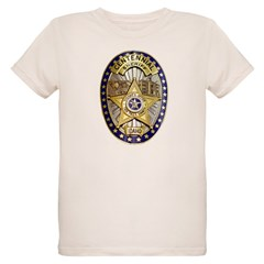 Twin Falls Sheriff Organic Kids T-Shirt