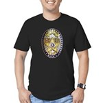 Twin Falls Sheriff Men's Fitted T-Shirt (dark)