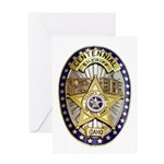 Twin Falls Sheriff Greeting Card