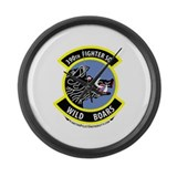 390th FS Large Wall Clock