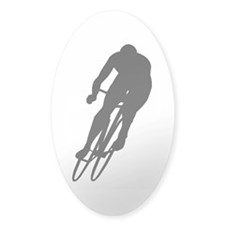 Cycling Oval Decal