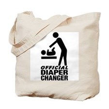 Official Diaper Changer (M) Tote Bag