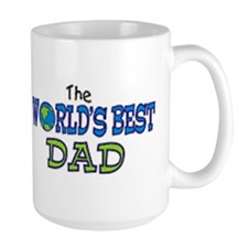 World's Best Dad Fathers Day Coffee Mug