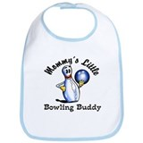 Mommy's Little Bowling Buddy Bib