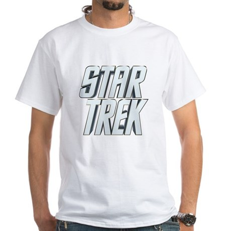Star Trek White T-Shirt