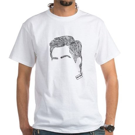 Captain Kirk White T-Shirt