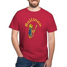 Sullivan Celtic Warrior Design #2 T-Shirt