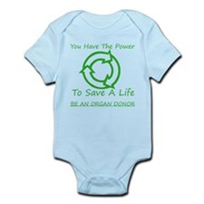 Power To Save Infant Bodysuit