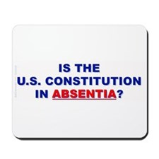U.S. Constitution Missing? Mousepad