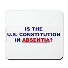 U.S. Constitution Missing? Mousepad