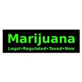 Marijuana Tax Bumper Bumper Sticker