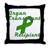Transplant Recipient Throw Pillow