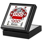 Lucas Coat of Arms Keepsake Box