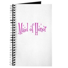 Maid of Honor Pink Twinkle Journal